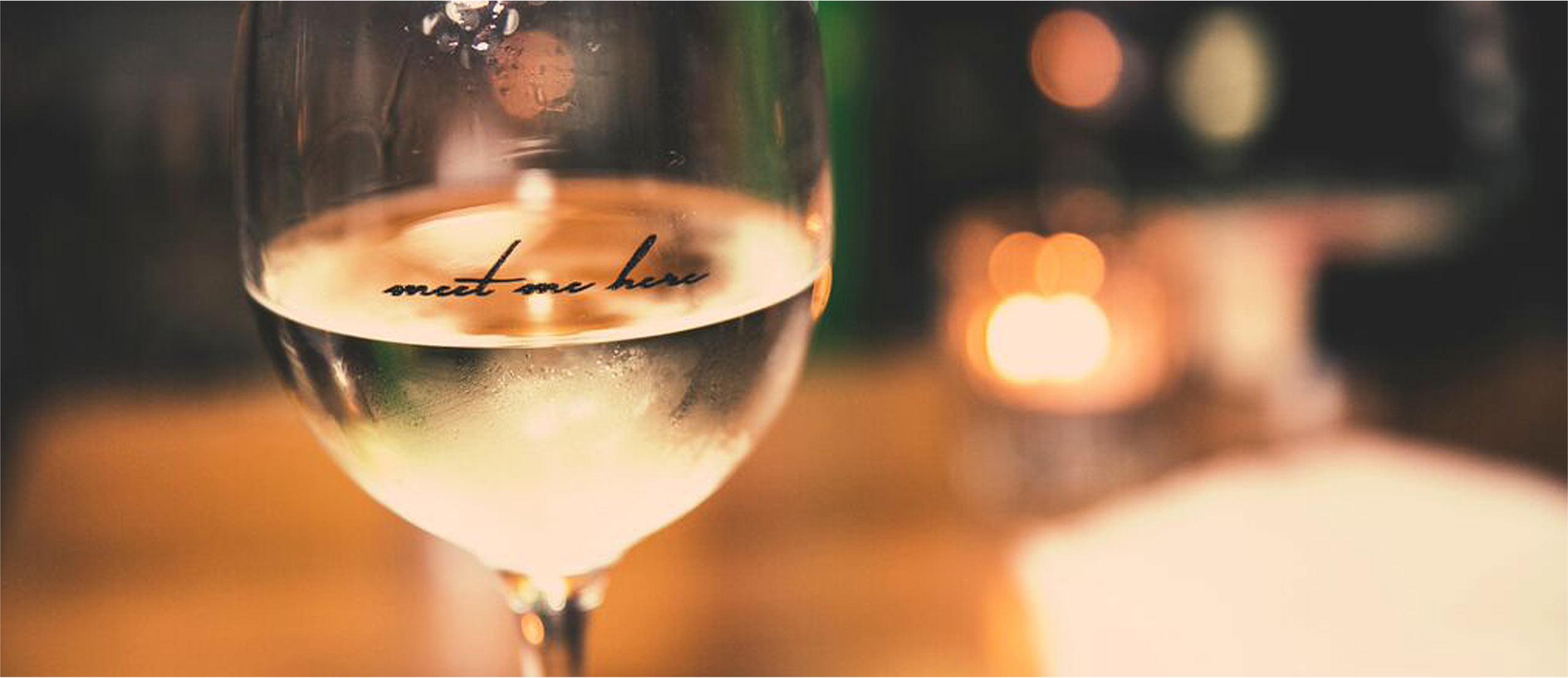 Wine Glass meet me here - Little Blackwood Queenstown
