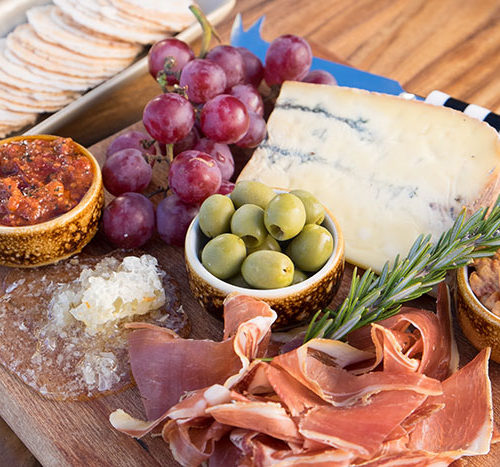 Meat and Cheese Platter, local favourite bar Queenstown